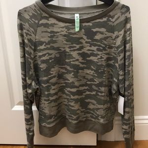 Camo loungeset from Bloomies NEW
